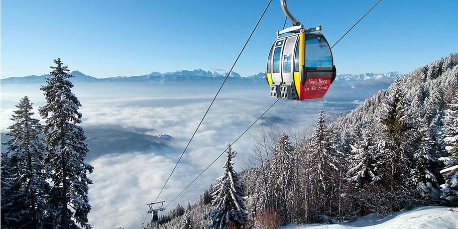 Das Sport- und Familienhotel ist eingebettet in das Ski- und Wandergebiet der Gerlitzen Alpe