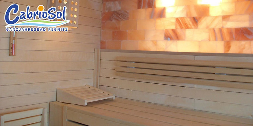 Gutschein für Das Bad mit dem einzigartigen CabrioDach von CabrioSol