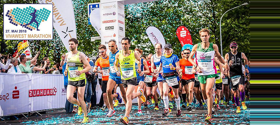 Gutschein für Ihre zwei Startplätze für den VIVAWEST - 10 km Lauf am 27.05.2018 von VIVAWEST-Marathon