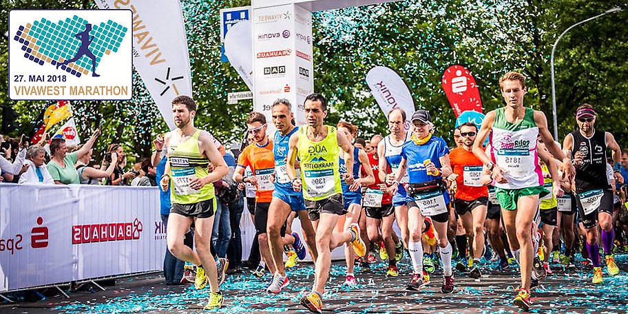 Der VIVAWEST-Marathon verbindet Gelsenkirchen, Essen, Gladbeck und Bottrop
