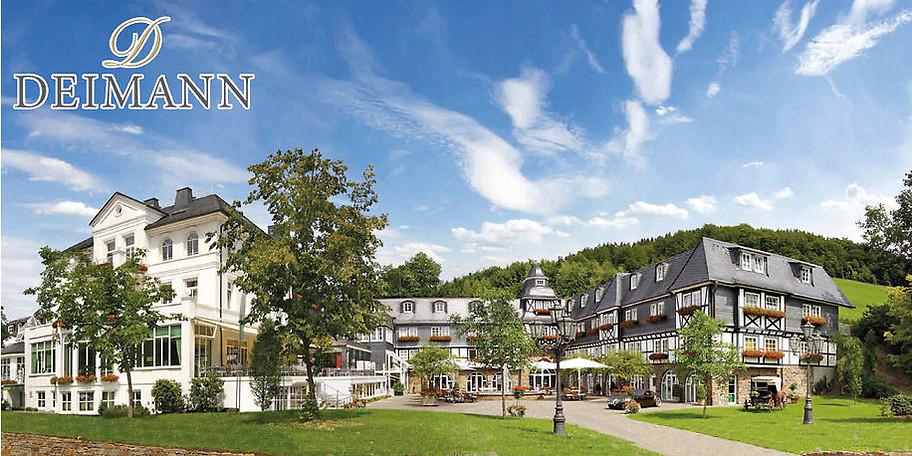 Gutschein romantik wellnesshotel deimann 300 for Besondere hotels