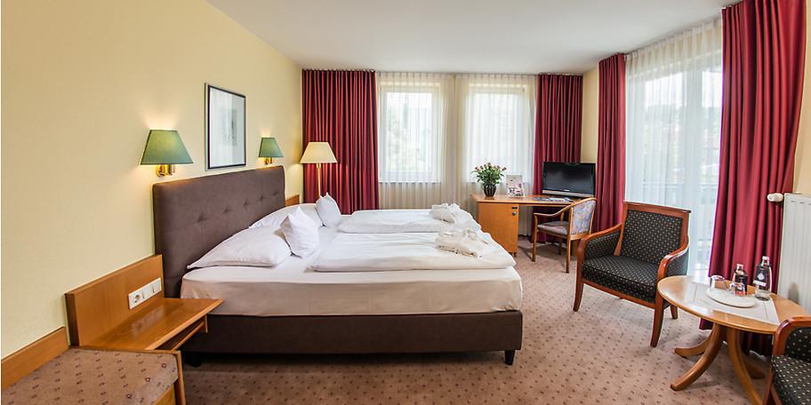 Das Junior-Doppelzimmer im Sophien Hotel