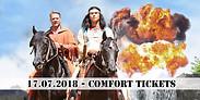 Gutschein für 2 Comfort Tickets zum Preis von einem für den 17.07.2018 von Karl May - Festspiele