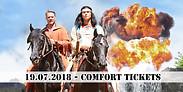 Gutschein für 2 Comfort Tickets zum Preis von einem für den 19.07.2018 von Karl May - Festspiele