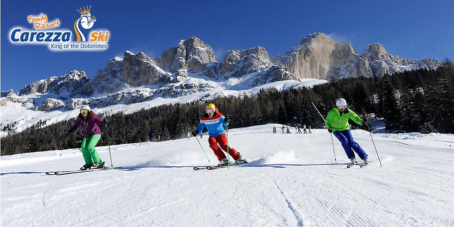 Skiurlaub mit der ganzen Familie im Welterbe Dolomiten