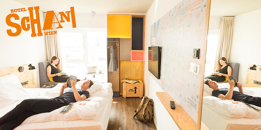 Gutschein für Das SMARTe Hotel in Wien für moderne Reisende von Hotel Schani Wien