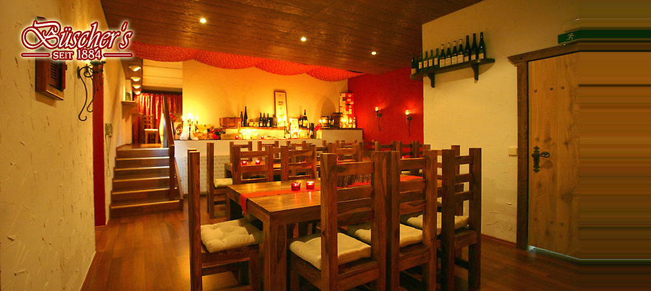Gutschein für Willkommen beim guten Geschmack! von Büscher's Hotel und Restaurant