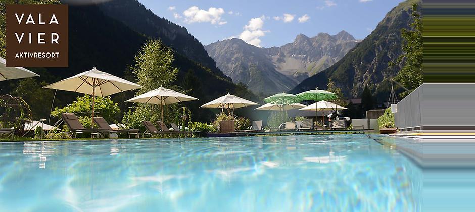 Gutschein für 2 Übernachtungen für 2 Personen im schönen Vorarlberg zum halben Preis! von Valavier Aktivresort