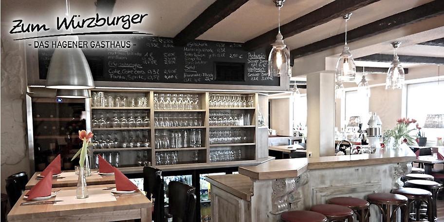 Gemütliche Atmosphäre im Zum Würzburger in Hagen