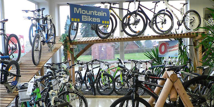 Alle Arten von Fahrräder stehen zur Auswahl