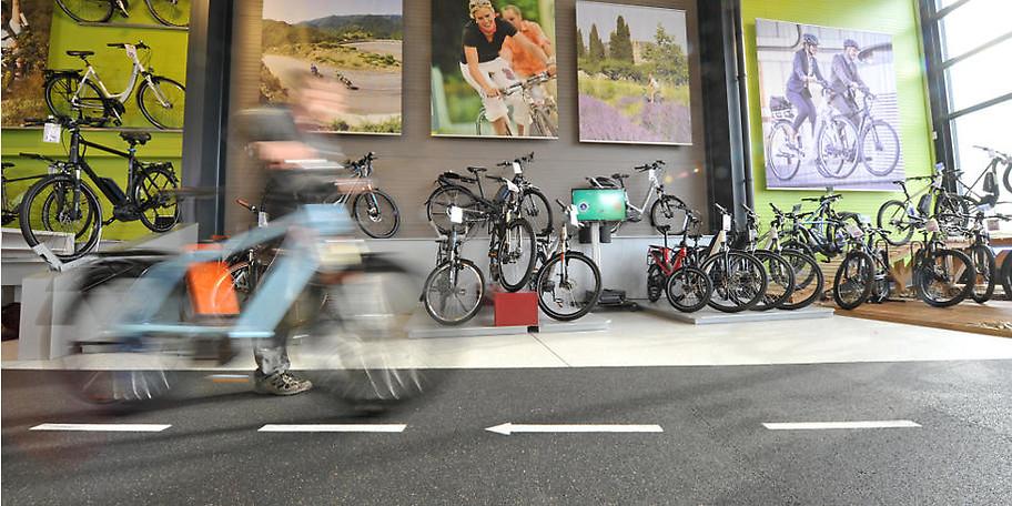 Bei Benneker dreht sich alles rund um Rad und E-Bike