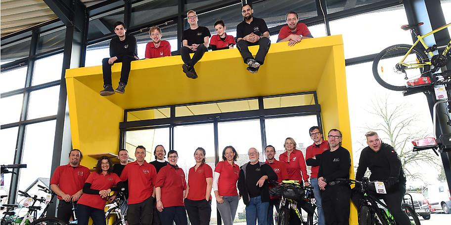 Das Team der Bike Arena Benneker steht Ihnen mit kompetenter Beratung zur Seite