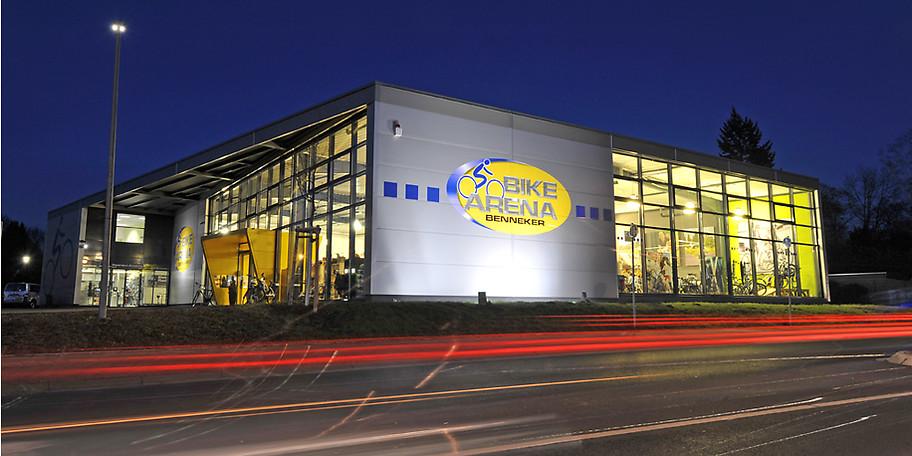 Willkommen in der Bike Arena Benneker!