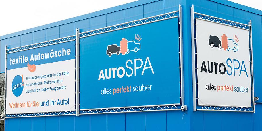 autoSPA ist das Wellness-Center für Ihr Auto