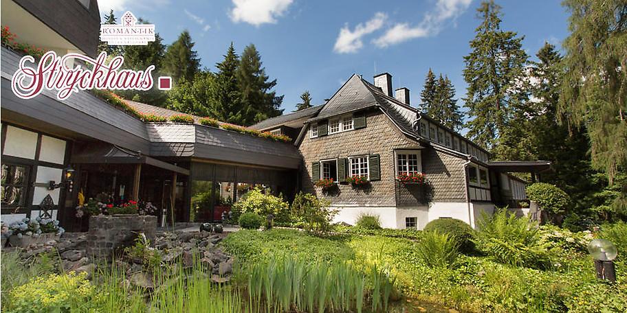 Idyllische Lage im Strycktal – das Romantik Hotel Stryckhaus