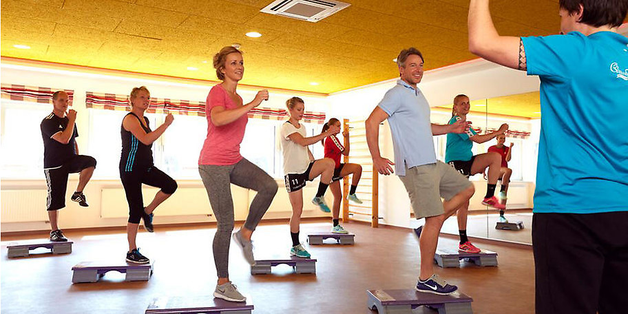 Im Hotel AquaVita sportlich aktiv sein