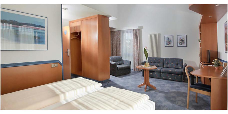 Gemütliche Zimmer im Posthotel Rotenburg