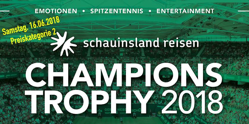 Gutschein für 2 Tickets (PK2) für das Mixed am 16.06.2018 zum Preis von einem! von Die Champions Trophy im GERRY WEBER STADION