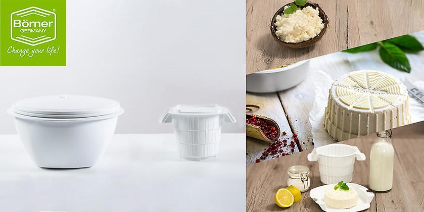Gutschein für Multimaker und Cheesemaker im Set für nur 15,- €! von Börner