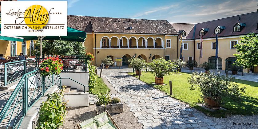 Gutschein für 3 Übernachtungen zum halben Preis! von Landgut & Spa Althof in Retz