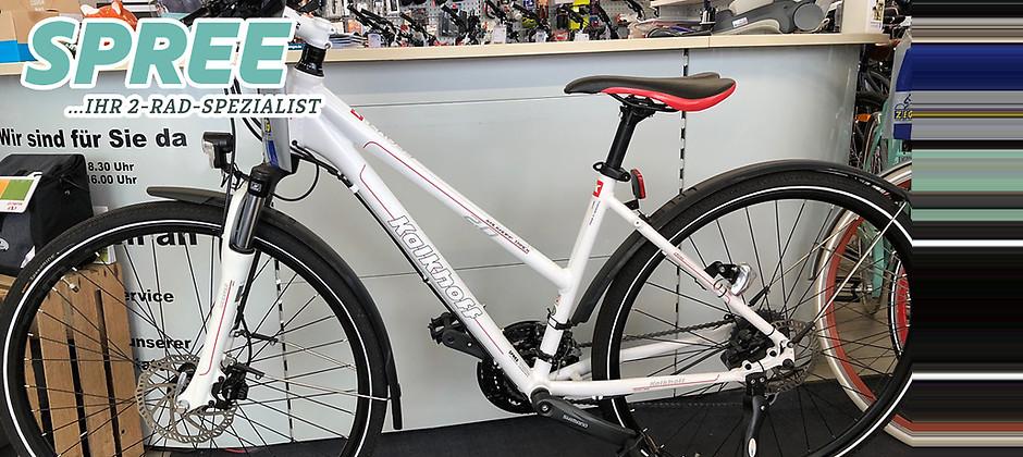 Gutschein für Ein Kalkhoff Track Street 2.0 Trekkingrad zum halben Preis! von 2 Rad Spree