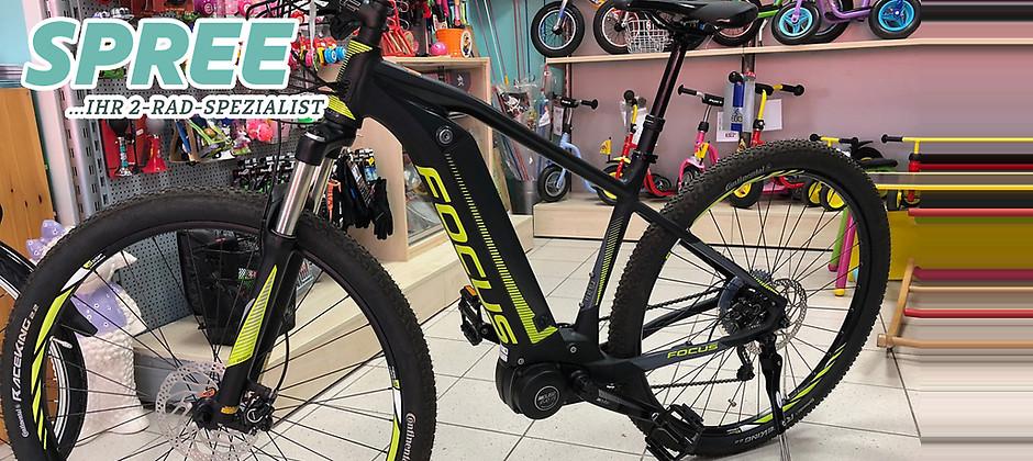 Gutschein für Ein Focus Jarifa i 29 E-Bike zum halben Preis! von 2 Rad Spree