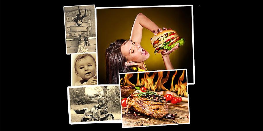 Leckere Burger und frisch gegrillte Steaks erwarten Sie