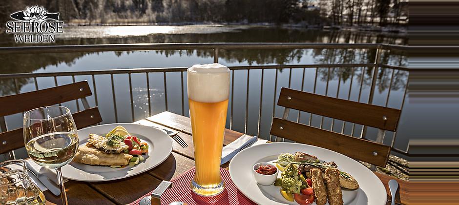 Gutschein für Genießen Sie traditionelle Gerichte mit Blick auf den See von Gasthaus Seerose