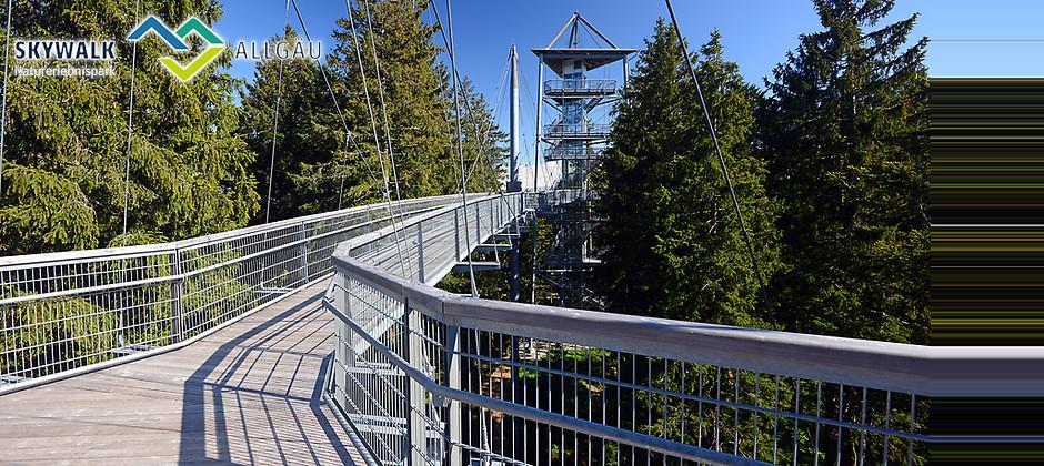Gutschein für Eintrittskarte inkl. Verzehrgutschein zum halben Preis von skywalk allgäu Naturerlebnispark