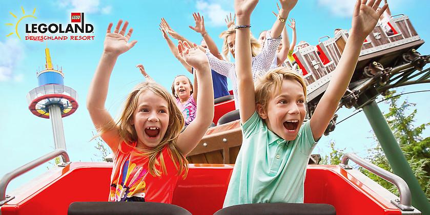 Gutschein f&uuml;r Der großartige Gutschein für eine Tageskarte für das LEGOLAND<sup>®</sup> Deutschland von LEGOLAND® Deutschland Resort