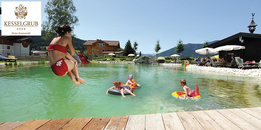 Gutschein für Familienurlaub mit 7 Übernachtungen zum halben Preis! von Kesselgrubs Ferienwelt****