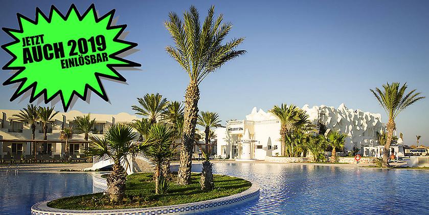 Gutschein für 7 Tage Urlaub in Djerba für 2 Personen zum halben Preis! von ROBINSON CLUB DJERBA BAHIYA